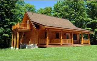 The Difference Between a Log Cabin and a Log Home