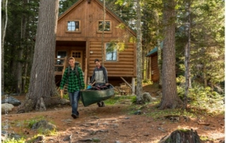 Cooling Log Cabins