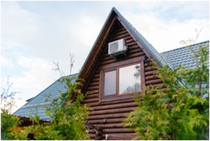 Air Conditioning for Log Cabins