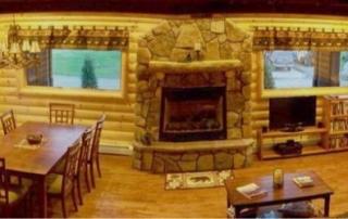 Log cabin paneling