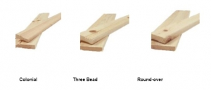 Knotty Pine Base and Casing