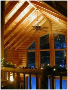 Cooling Equipment for Log Cabins