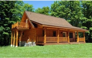 Log Cabin Foundations