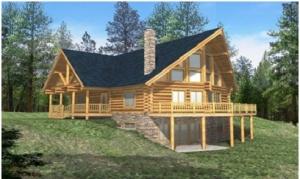 Log Siding Cabin