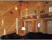 Best Peeled Log Posts, Lo Beams, and Log Trusses
